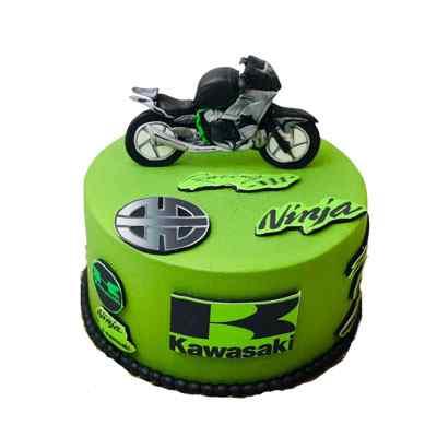 Ninja Bike Cake