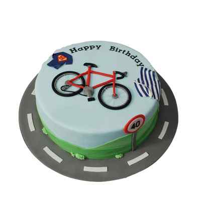 Bicycle Themed Cakes
