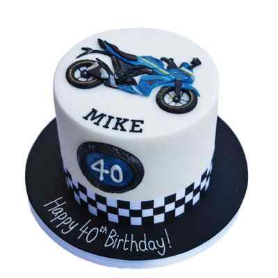 Very Special Motorcycle Cake