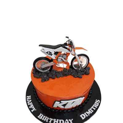 Delicious Chocolate Motorcycle Cake