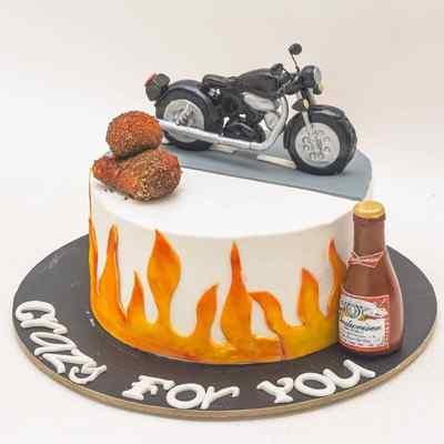 Biker Boy Cake