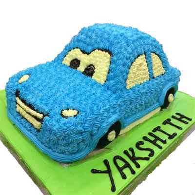 Cartoon Car Cake